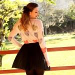 Look Up Fashion: corações e plissado