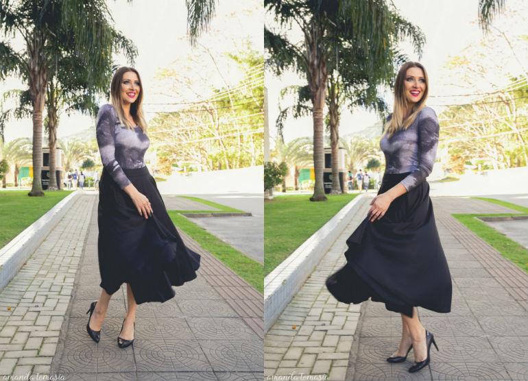 como usar saia midi_ saia midi preta_ saia midi com bolsos_ dani garlet_ onde comprar saia midi_ marrocana_ boby estampado _ blog de moda